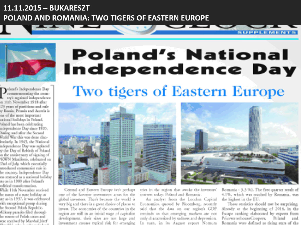 Poland and Romania: Two tigers of Eastern Europe