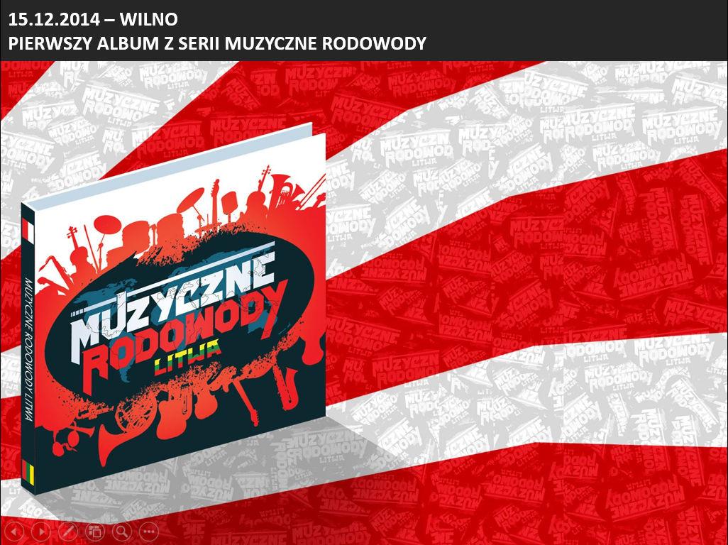 Pierwszy Album Muzyczne Rodowody - Litwa