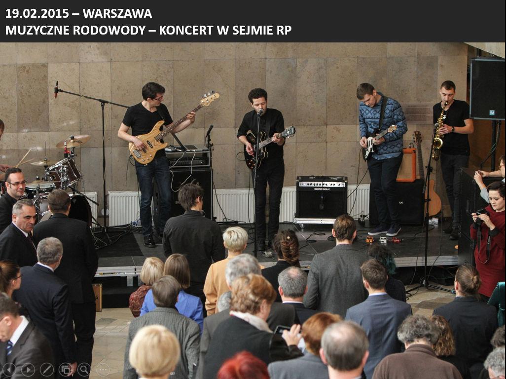 Muzyczne Rodowody - koncert w Sejmie RP