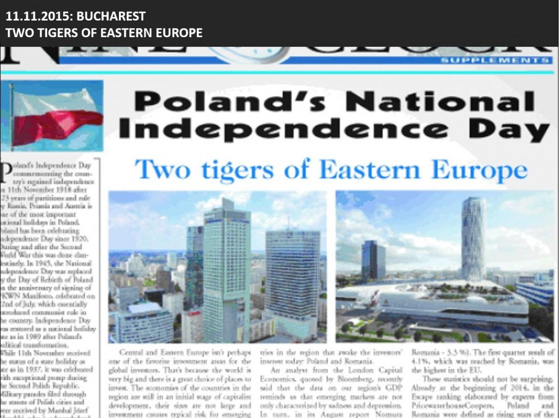 Dwa tygrysy europy wschodniej